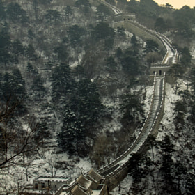 Great Wall by eric v on 500px.com