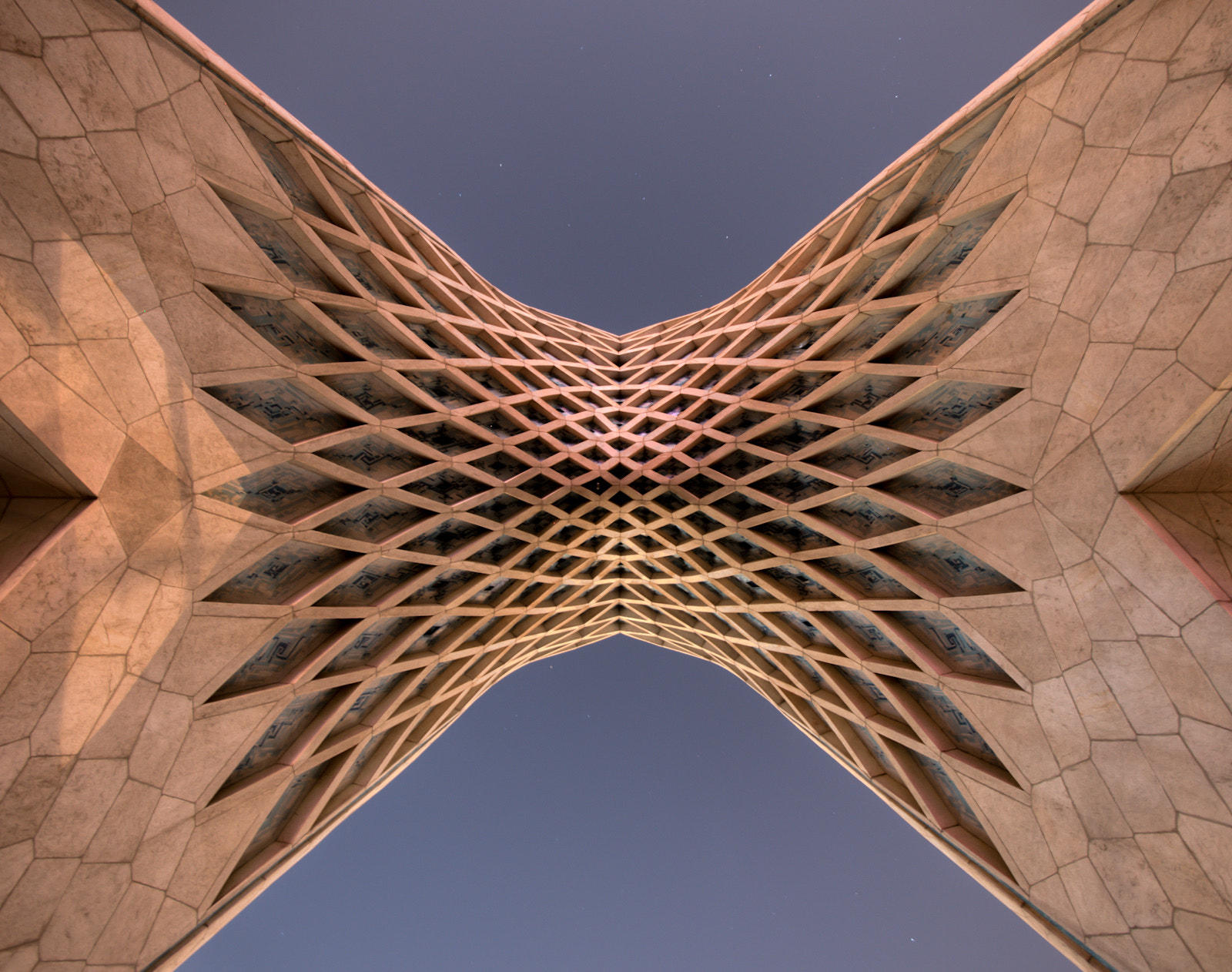Photograph Upshot of Azadi Tower by Geoffrey McGill on 500px