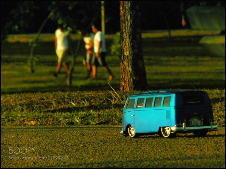 Photograph Mini Kombi by Beto Simões on 500px