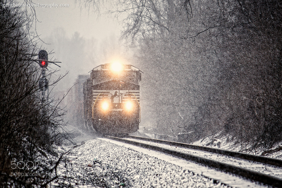NS 7675 in the Snow by Greg Booher on 500px.com
