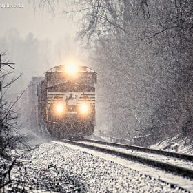 NS 7675 in the Snow by Greg Booher (gregbooher)) on 500px.com