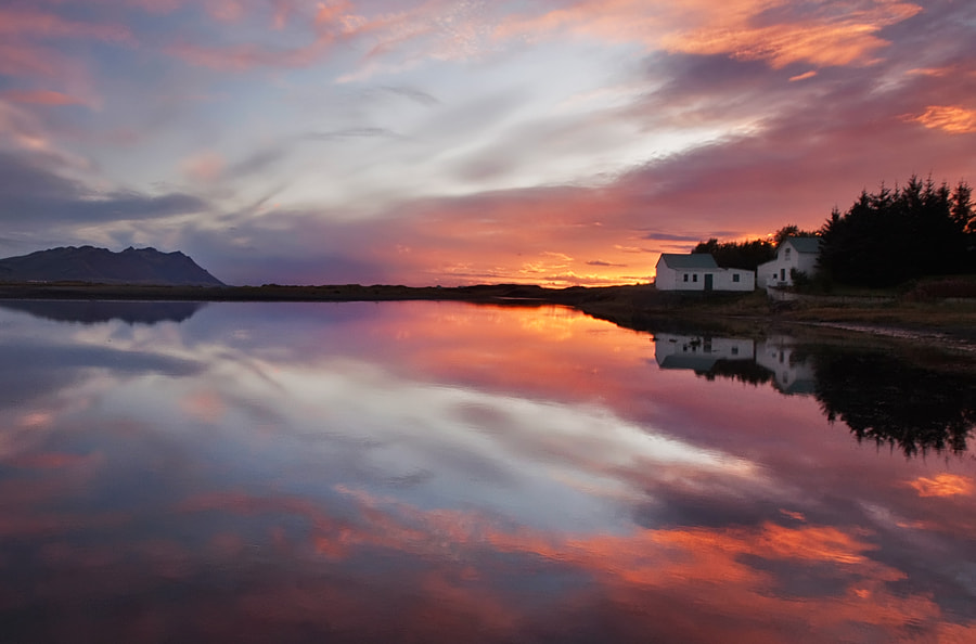 Photograph Sunset Reflection by Bragi Ingibergsson - BRIN on 500px