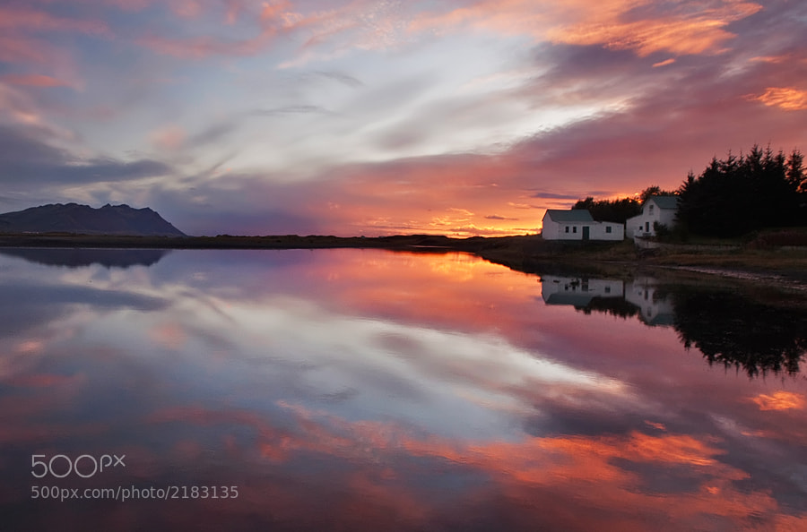 Photograph Sunset Reflection by Brin . on 500px