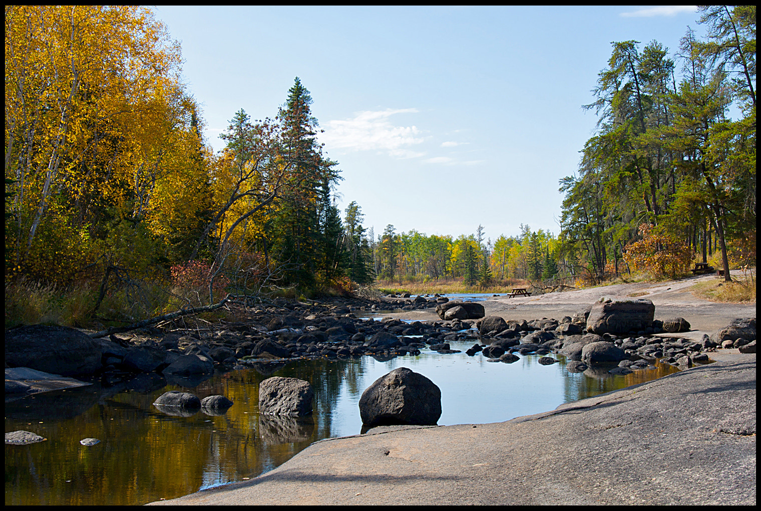 Photograph Whiteshell in the Fall by vovamir on 500px