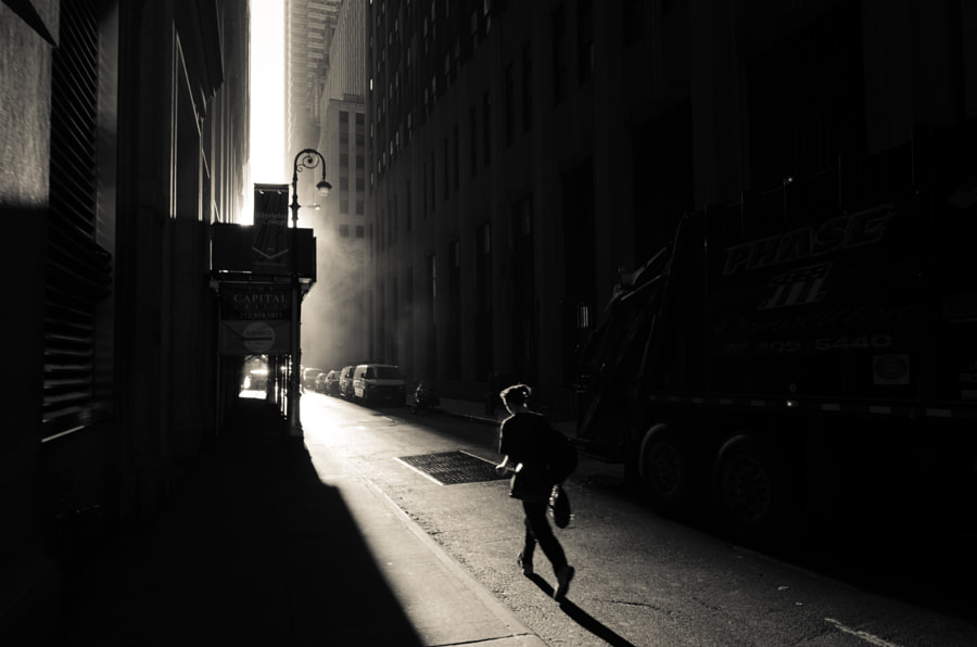 running towards the light by Christopher Dandrow on 500px.com