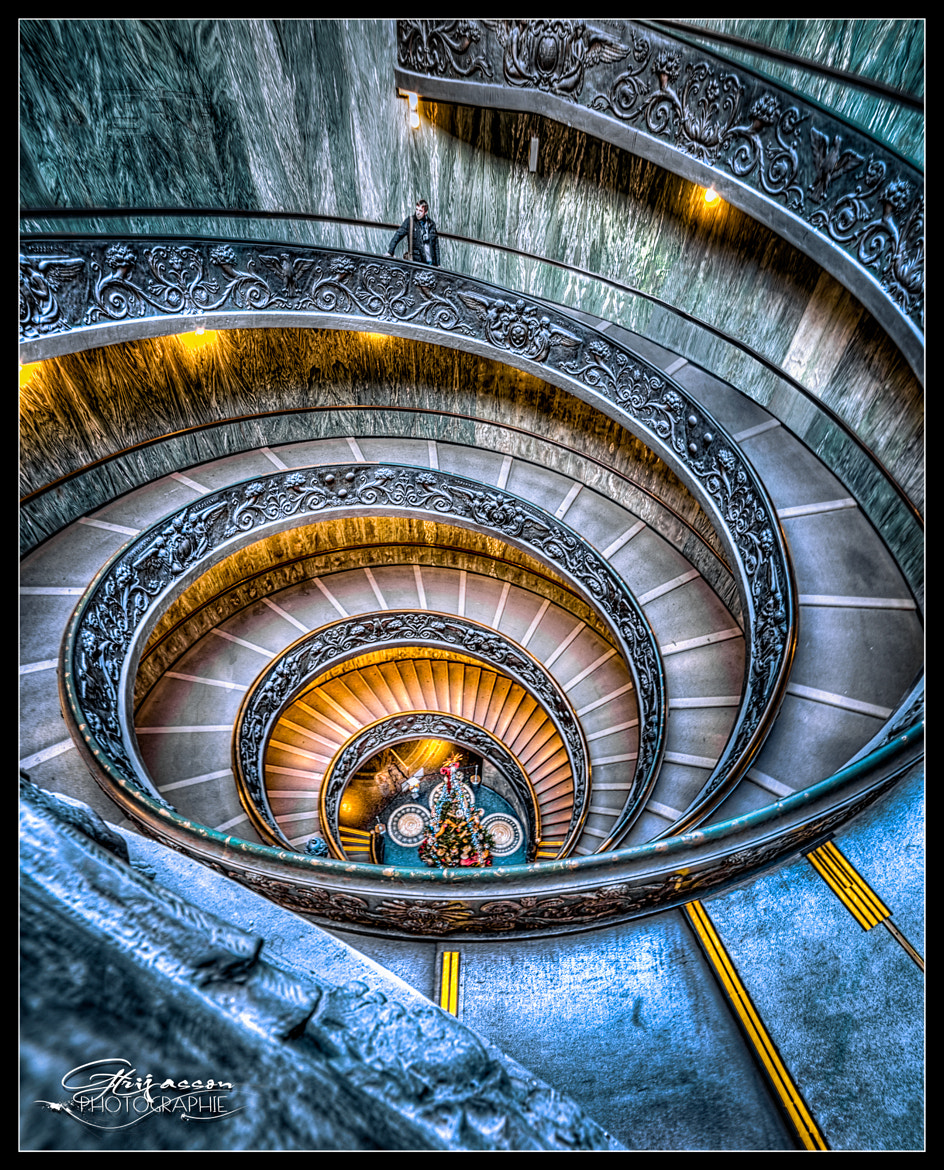Photograph Spiral Staipers of Vatican by gael photo.com on 500px