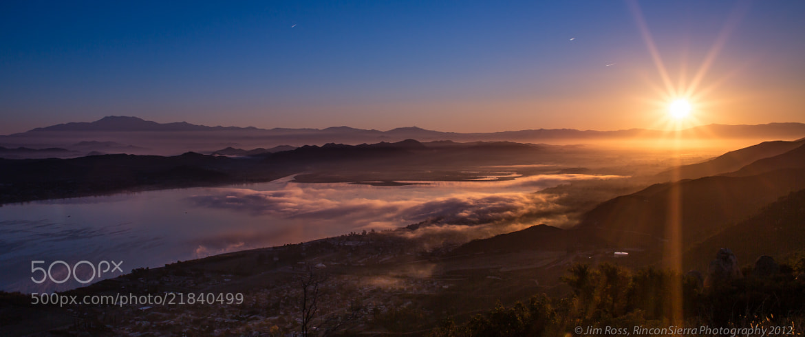 Photograph First Light Over The Valley!!! by Jim Ross on 500px