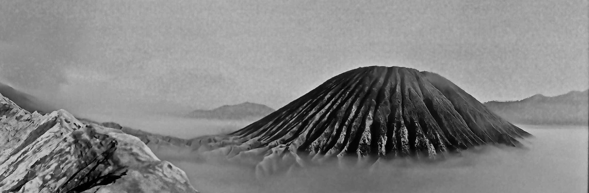 Photograph mount bromo moonscape by Paul Cowell on 500px