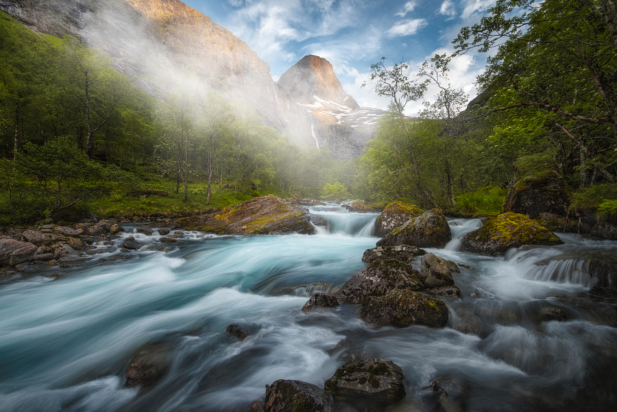 Landscape Photo The Valley by Landscape Photographer Ole Henrik Skjelstad on 500px.com
