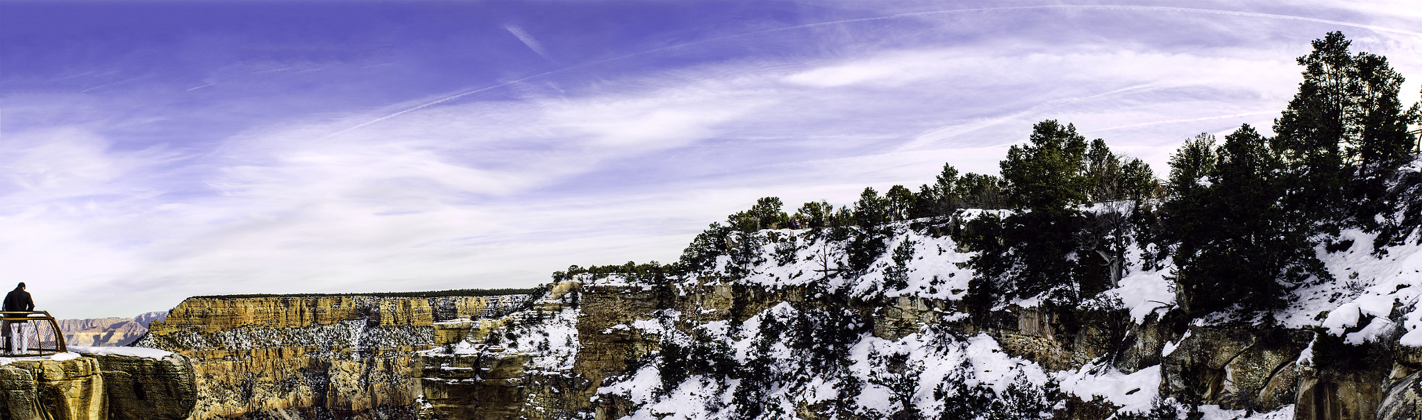Photograph Grand Canyon South Rim Panoramic 1 by Rommel Mendoza on 500px