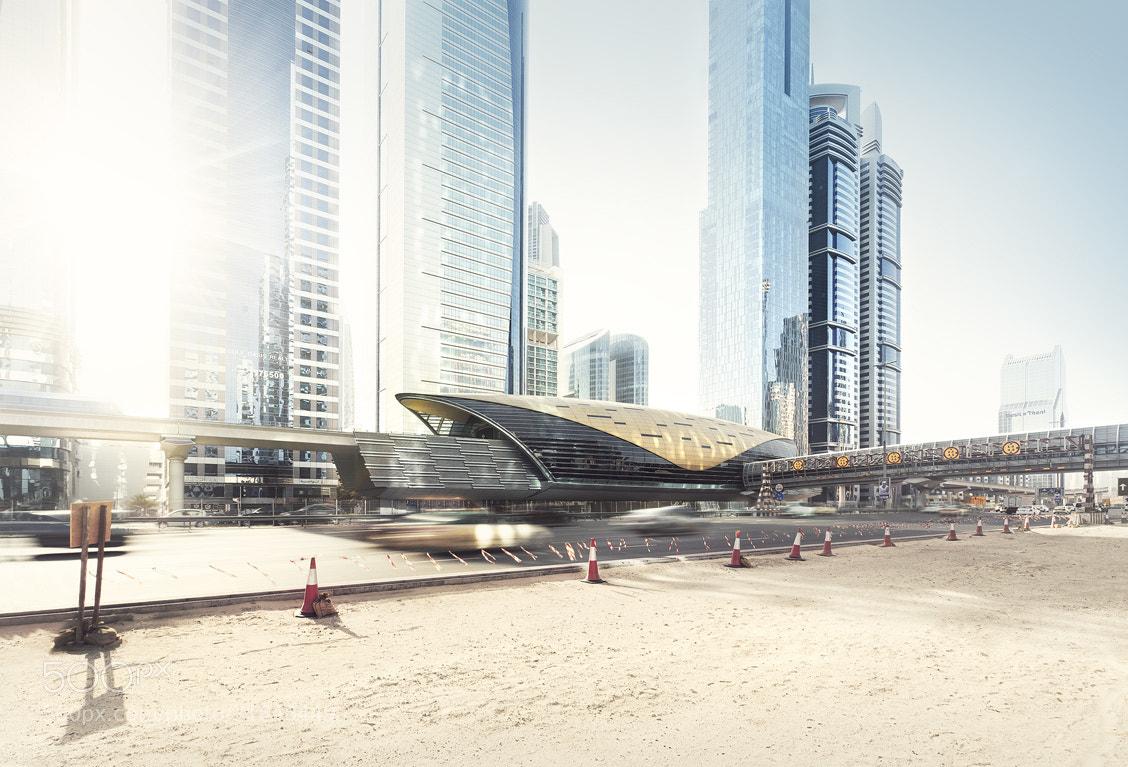 Photograph desert.city.metro by Johannes Heuckeroth on 500px