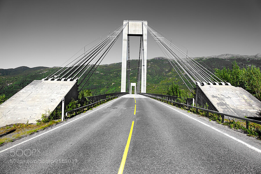 Photograph Bridge in Norway by Vitalik Z. on 500px
