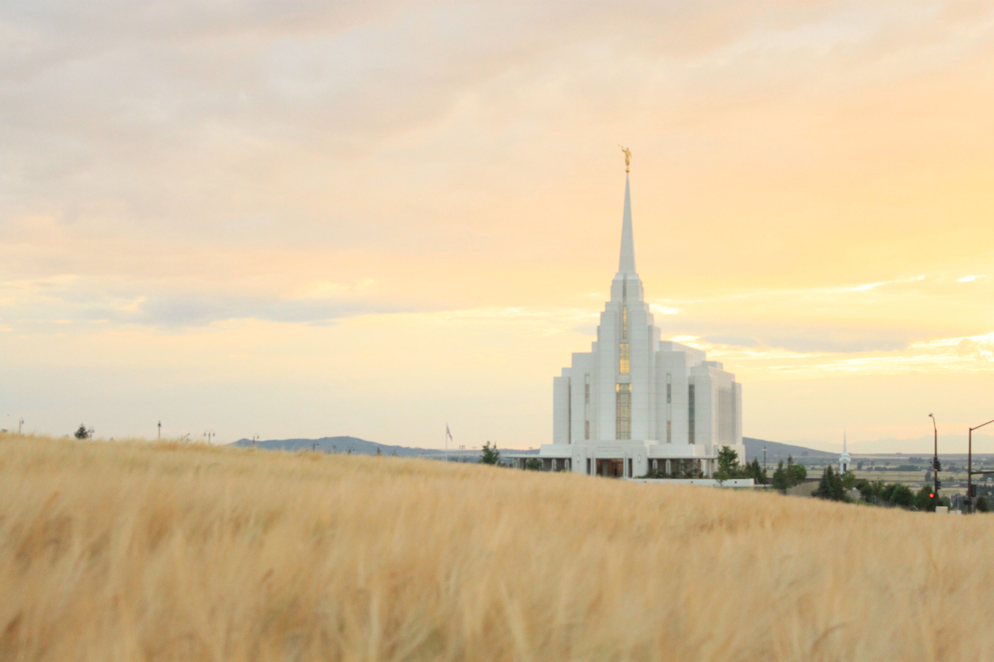 Photograph Rexburg Temple by Alli Brock on 500px