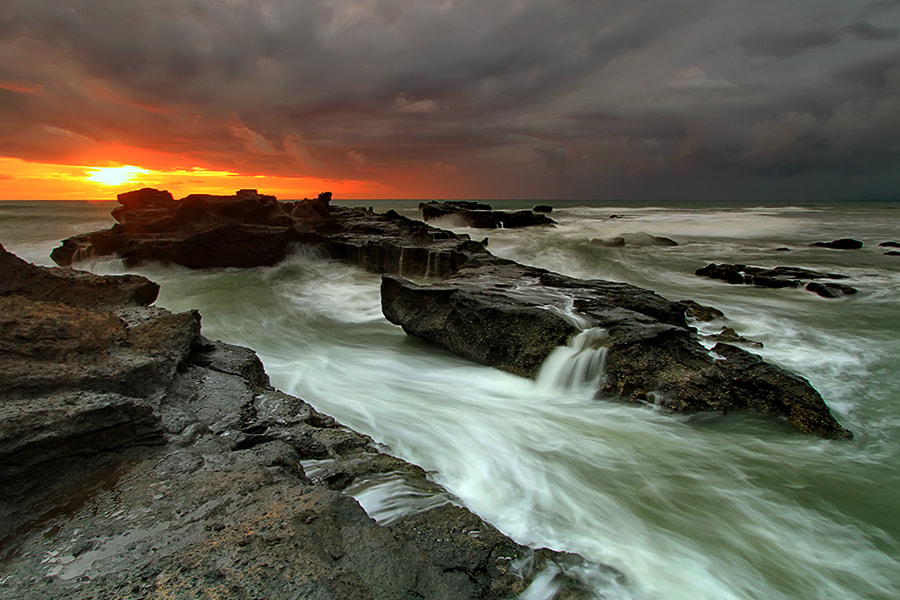 Photograph  Mengening Beach In Motion by Agoes Antara on 500px