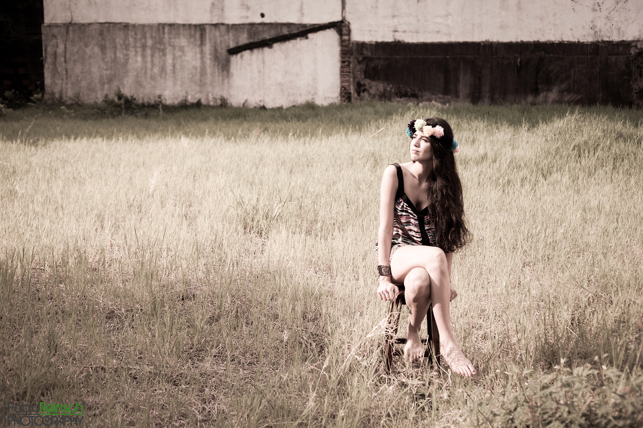 Photograph Cintia in wasteland.- by Pablo Reinsch on 500px