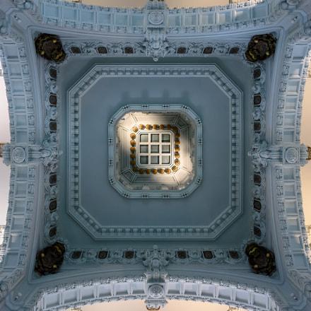 Centro Centro Cibeles: techo del antiguo Patio de Operaciones