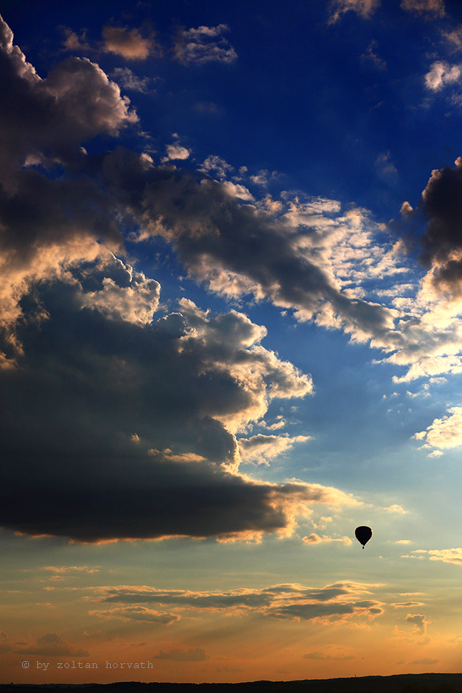 Photograph Landscape balloon by Zoltan Horvath on 500px