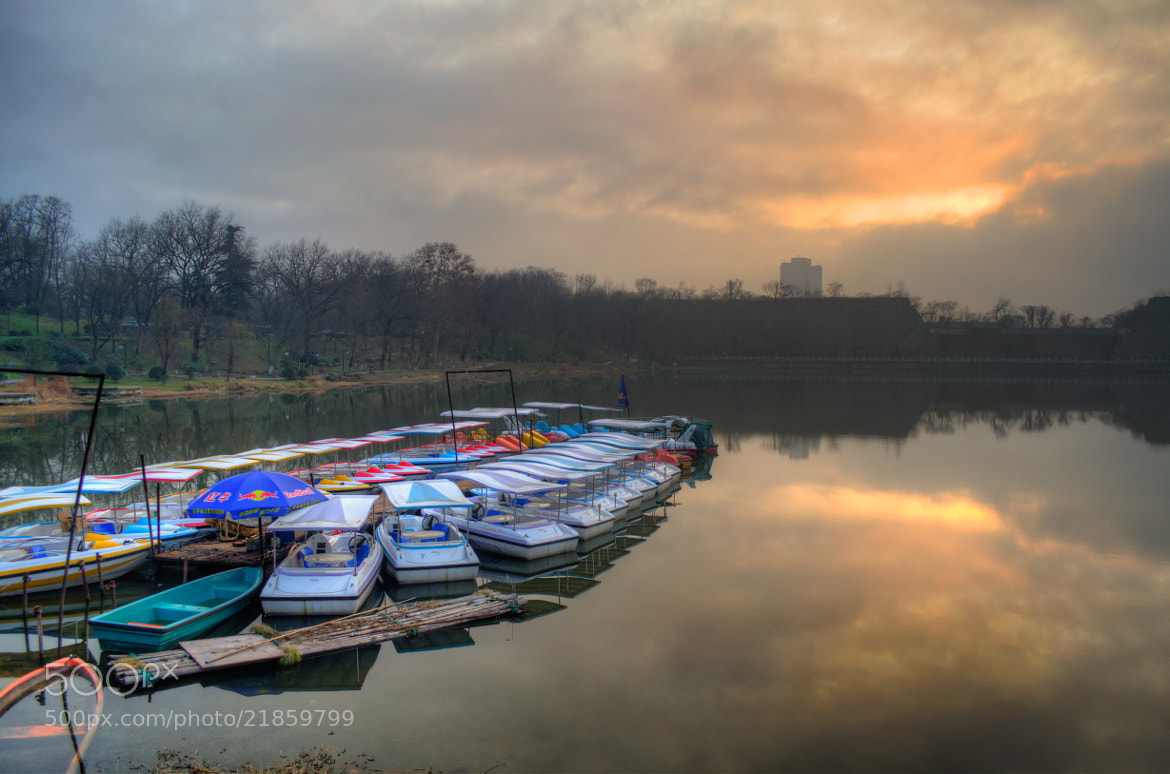 Photograph The boats by Soleil Neon on 500px