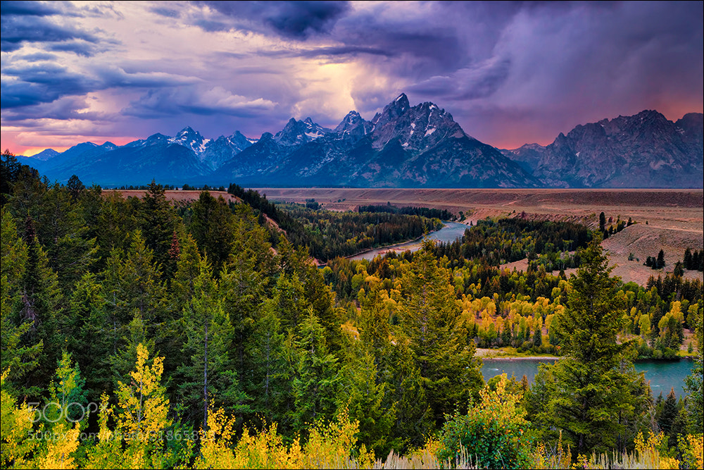 Photograph Stormy Evening, Snake River Overlook by Don Smith on 500px