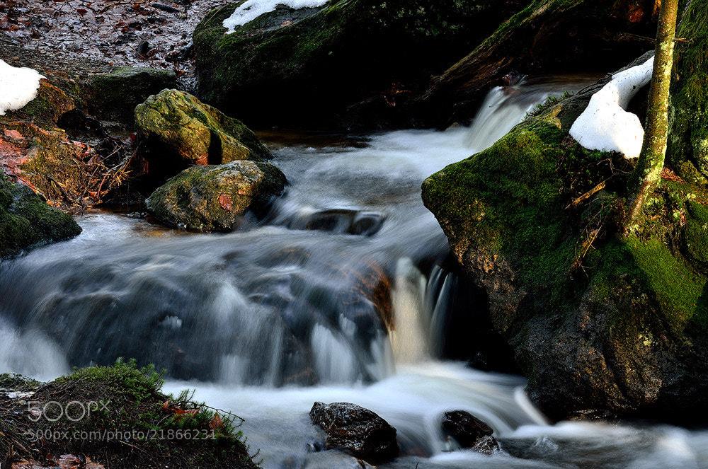 Photograph Waterfall by Zoltan Hagen on 500px