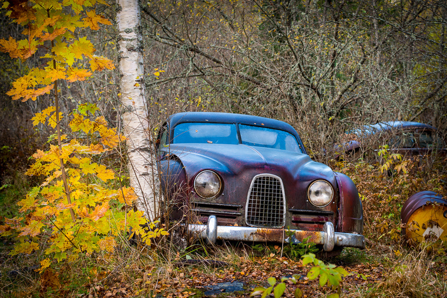 Photograph Abandoned SAAB by Christer Lindh on 500px