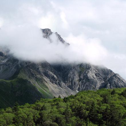 Minshan mountain range