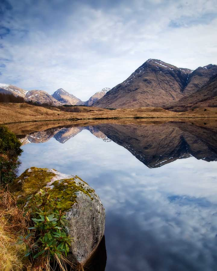 Photograph Spring in Glen Etive... by David Mould on 500px
