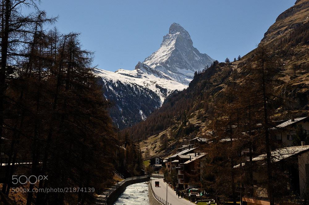 Photograph Matterhorn from Zermatt by Sundae Morning on 500px