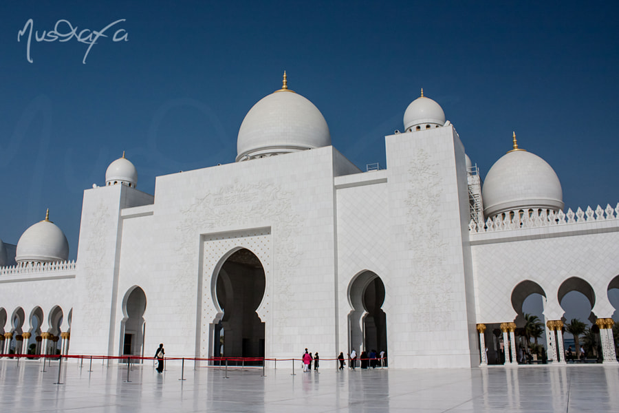 Sheikh Zayed Masjid - Courtyard Enterance