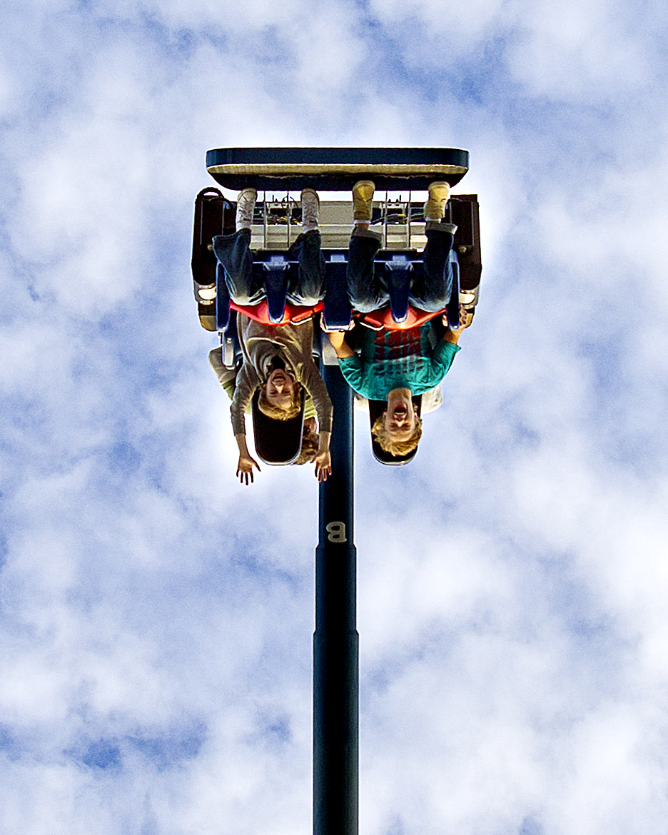 Photograph Thrill Ride - close up by Joe Randeen on 500px