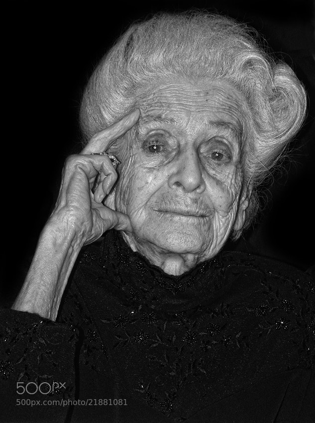 Photograph Rita Levi Montalcini by mario pignotti on 500px