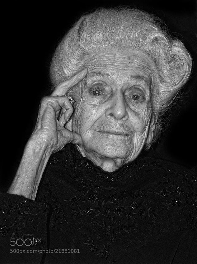 Photograph Rita Levi Montalcini by mario pignotti on 500px