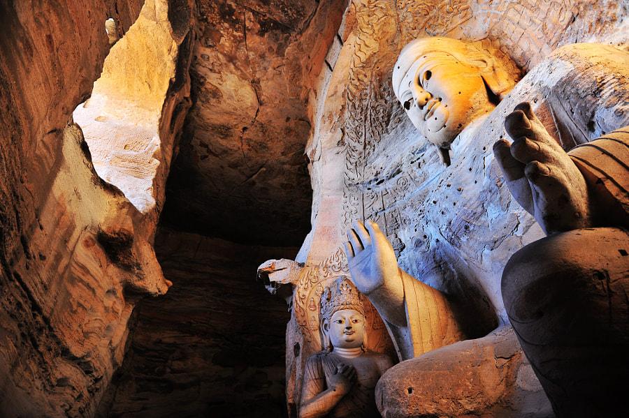 Yungang Grottoes-云冈石窟 by 黎明 权 on 500px.com