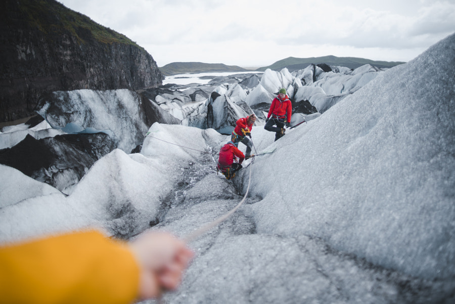 Hiking through glaciers by Jerm Cohen on 500px.com