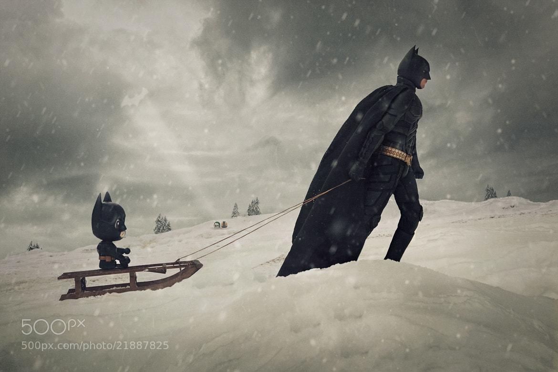 Photograph Batman & Son by Glenn Meling on 500px
