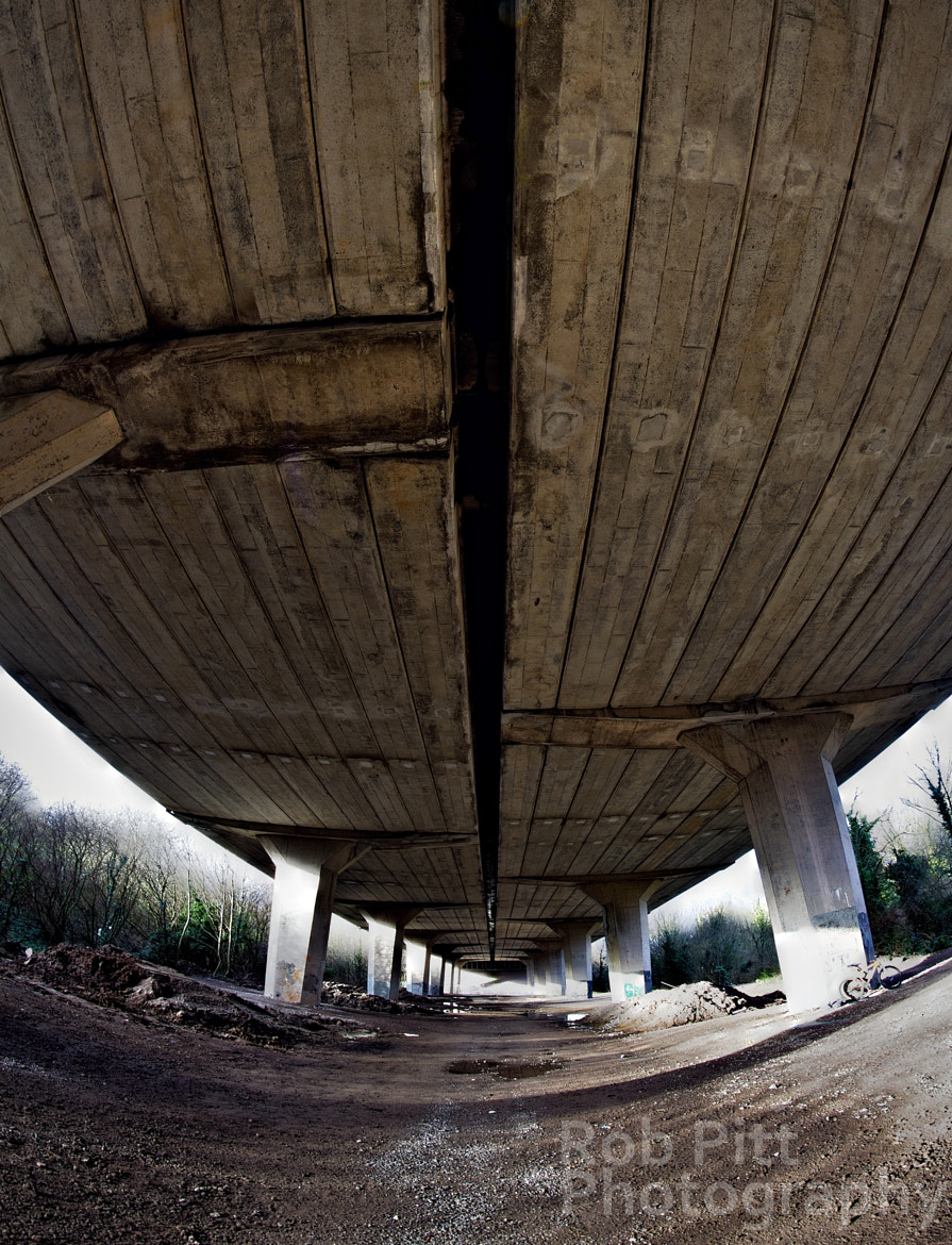 Photograph Under The M53 by Rob Pitt on 500px