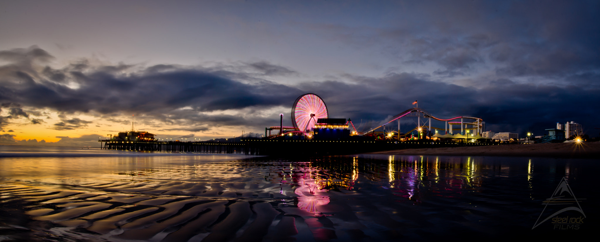Photograph Pier at Night by Brandon Lied on 500px