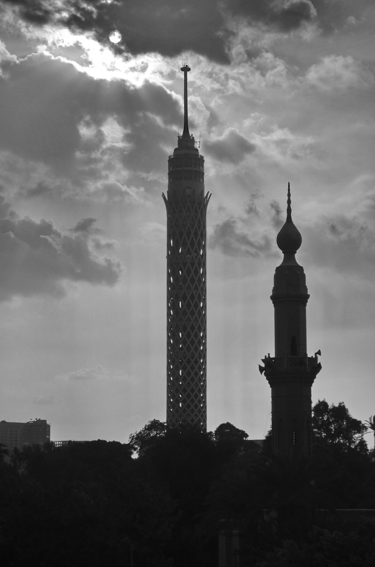 Photograph Cairo tower by ionutmarcel on 500px
