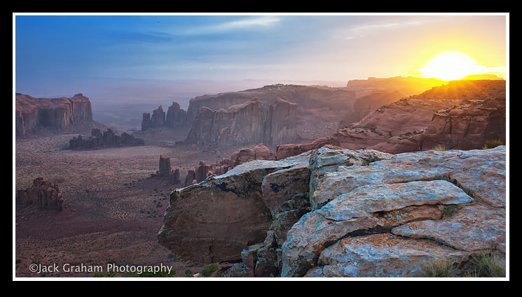 Photograph Sunrise and the impending Sand Storm by Jack Graham on 500px