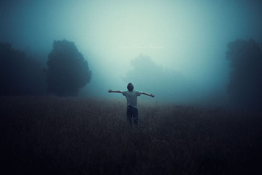 Photograph The boy and the mist by Kieran O'Connor on 500px