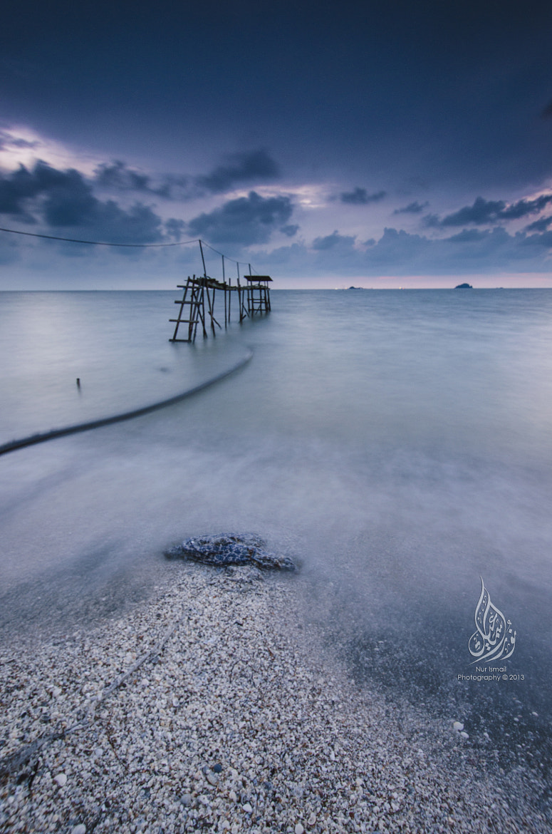 Photograph Pantai Jeram - Blue Hour by Nur Ismail Mohammed on 500px