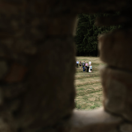 Shot through the Embrasure