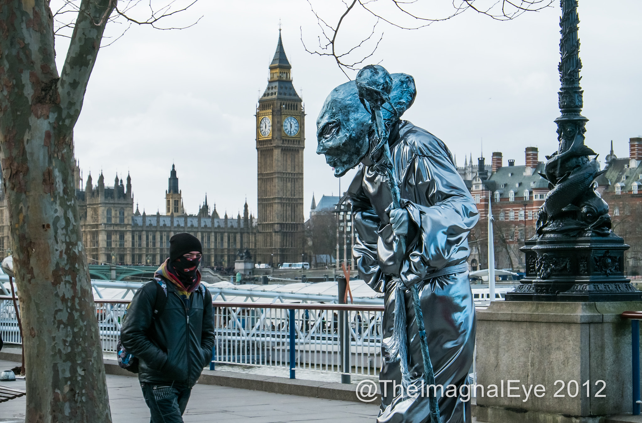 Photograph Alien on the South Bank, London.  by Pip Eastop on 500px
