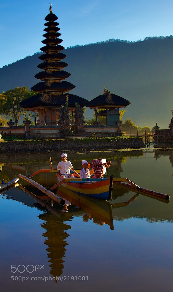 Photograph Children's boat on Pura Ulun Danu, Bratan Lake, Bali  by Gianni Cicalese on 500px