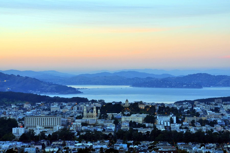 Photograph San Francisco at Dusk by D Y on 500px