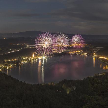 Firework- Lake Klopein (Austria)