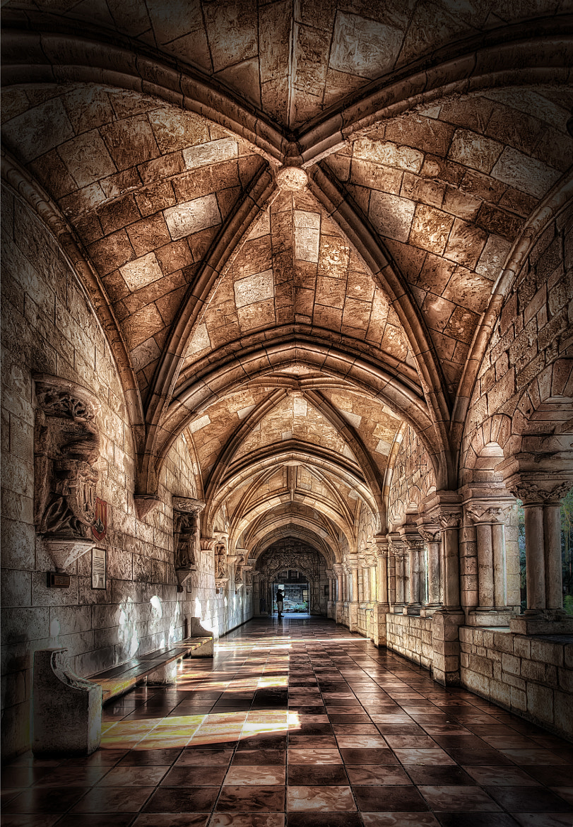 Photograph Cloisters of the Ancient Spanish Monastery by Marc Perrella on 500px