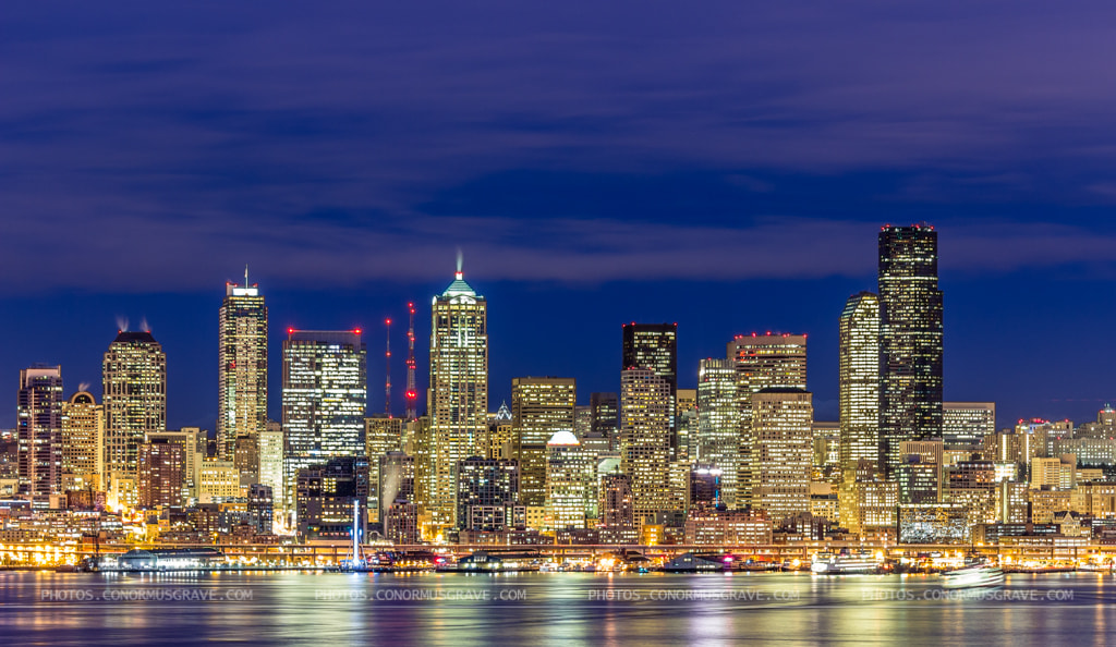 Photograph Seattle Skyline by Conor Musgrave on 500px