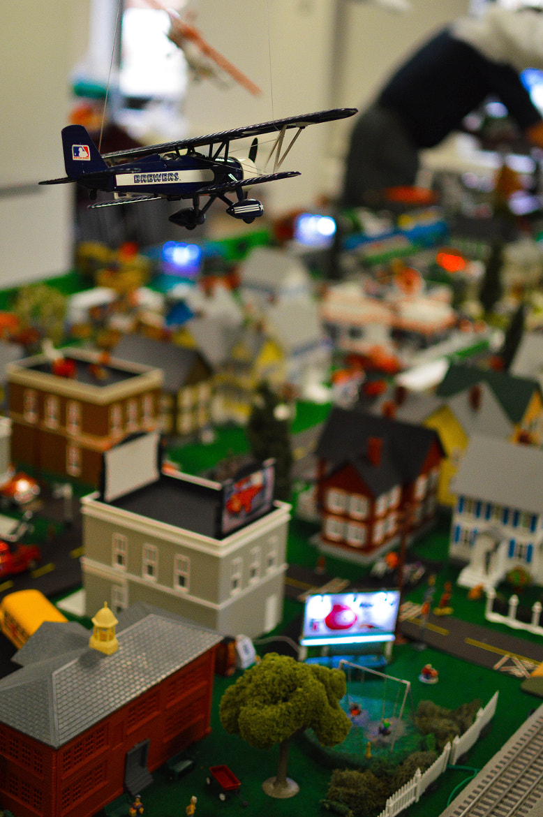 Photograph Model Train - Christmas by Bill Schuchman on 500px