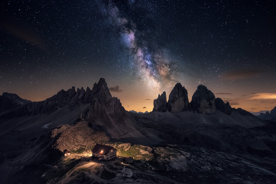 Rising over Tre Cime by Carlos F Turienzo on 500px.com